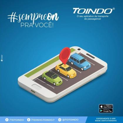 Motorista Particular   App Toindo   Aplicativo de Transporte