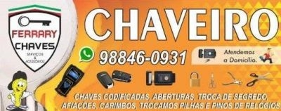Ferrary Chaves ☎ (071) 98846 0931